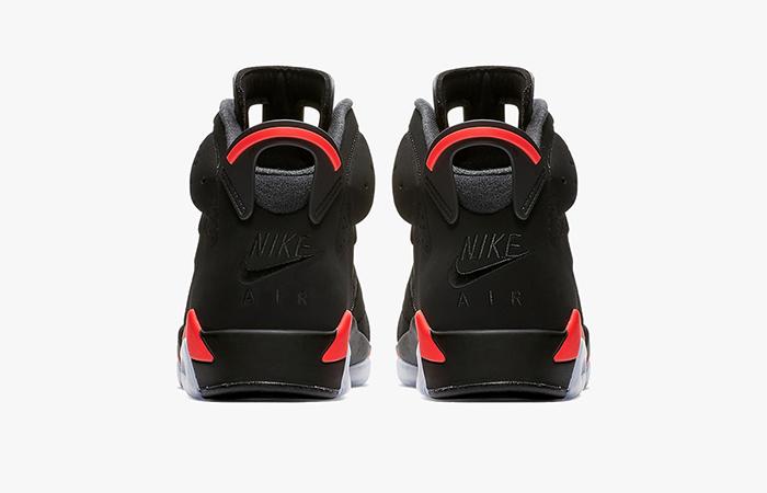Air Jordan 6 Retro Black Infra 384664-060