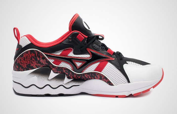 Mizuno Wave Rider 1 Blac Red D1GA192509