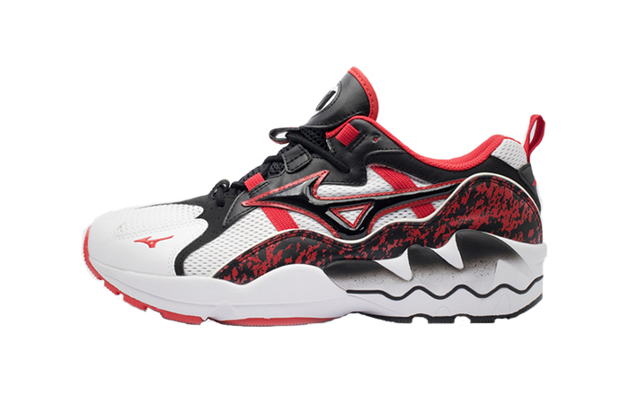 Mizuno Wave Rider 1 Black Red D1GA192509 01