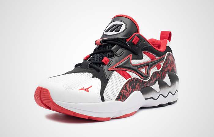 Mizuno Wave Rider 1 Blck Red D1GA192509