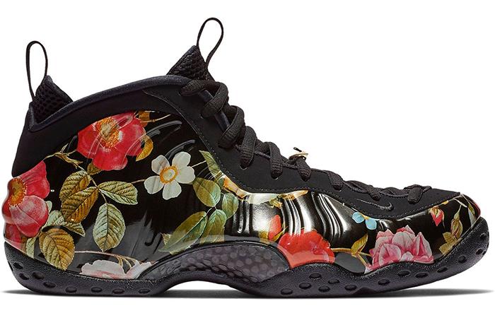 Nike Air Foamposite Black Floral 314996-012