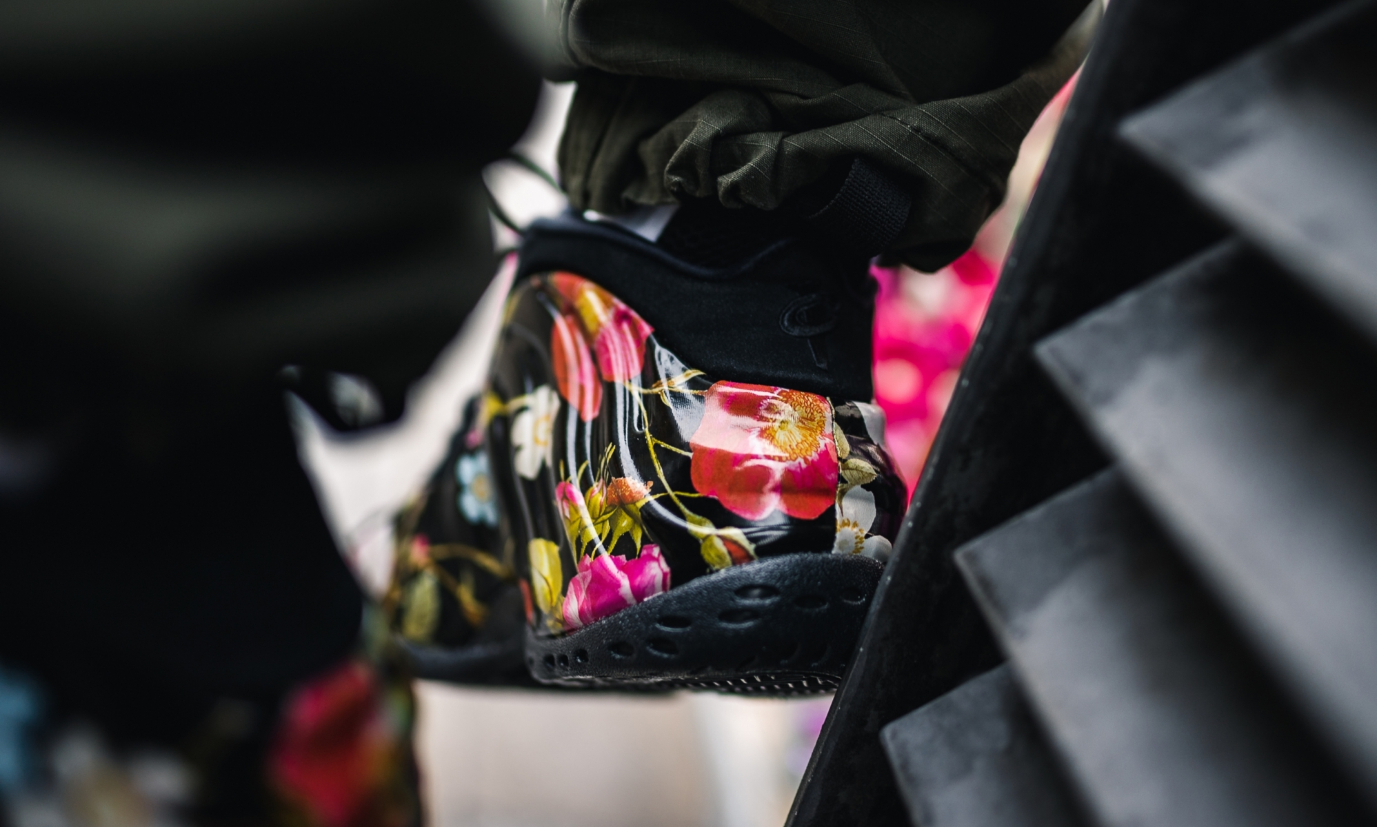 Nike Air Foamposite One Back Floral 314996-012