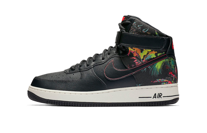 Nike Air Force 1 High Gets the Swoosh's Floral Makeover 01