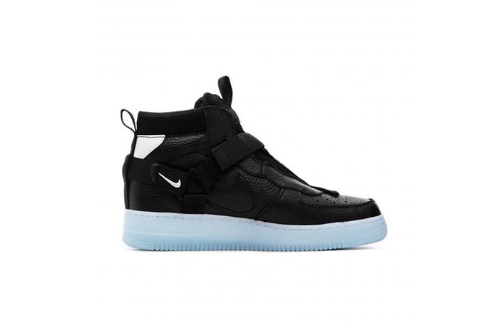 Nike Air Force 1 Utility Mid Blac White AQ9758-001