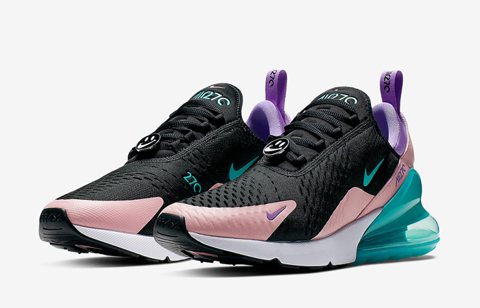 classic fit 01453 2fc37 Nike Air Max 270 Have A Nike Day Black Purple