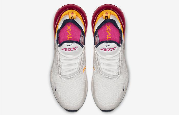 Nike Air Max 270 White Laser Fuchsia AH6789-106 6