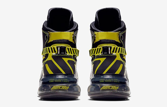 Nike Air Max 720 SATRN Black Yellow BV7786-001