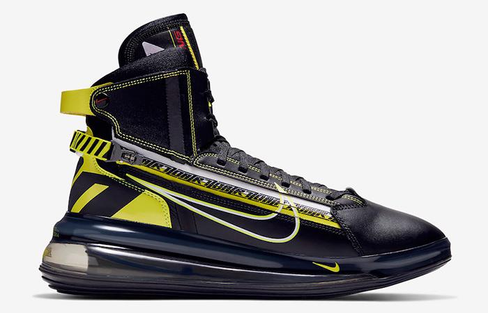 Nike Air Max 720 SATRN Black Yelow BV7786-001