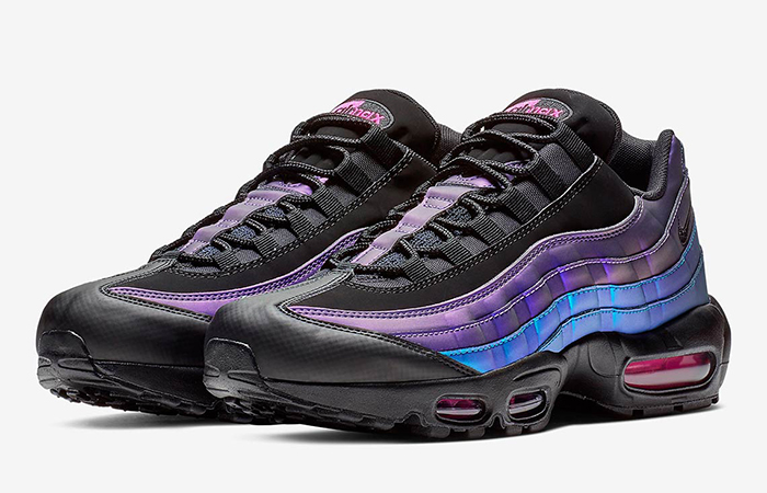 Nike Air Max 95 Black Laser Fuchsia 538416-021 02