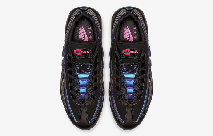 Nike Air Max 95 Black Laser Fuchsia 538416-021 03