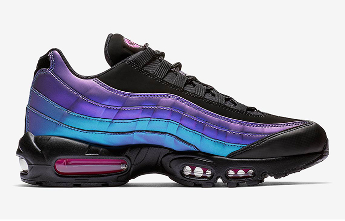 Nike Air Max 95 Black Laser Fuchsia 538416-021
