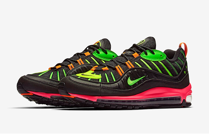 Nike Air Max 98 Neon Black CI2291-083 02