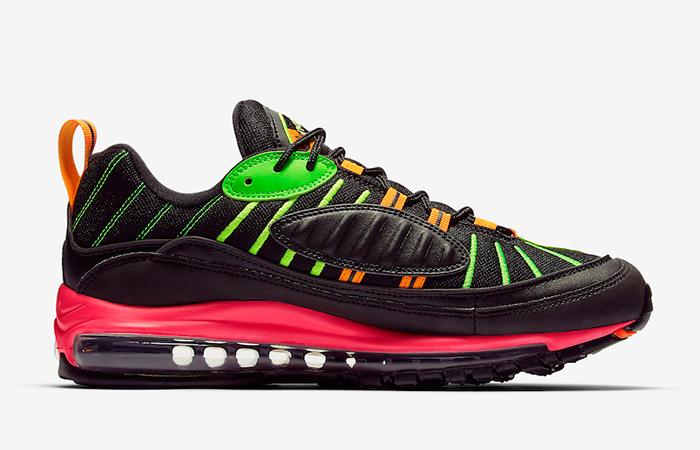 Nike Air Max 98 Neon Black CI2291 083