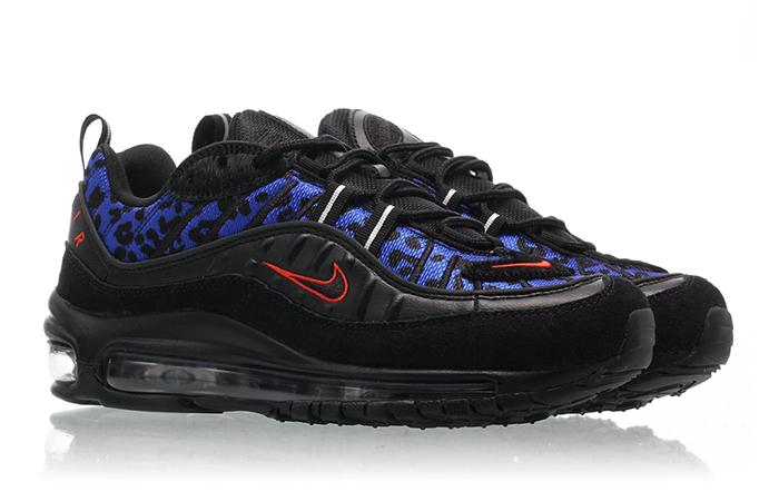 Nike Air Max Black Leopard
