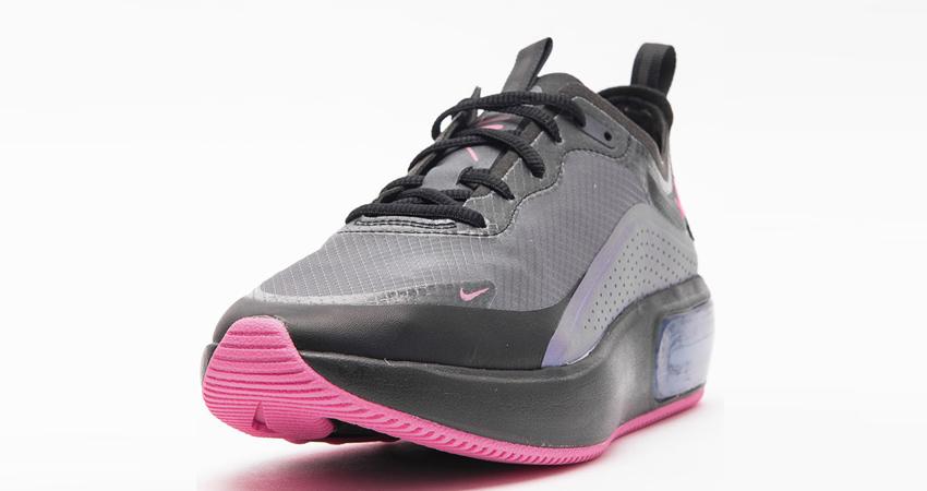 Nike Air Max DIA Comes In Black Laser Fchsia Colourw