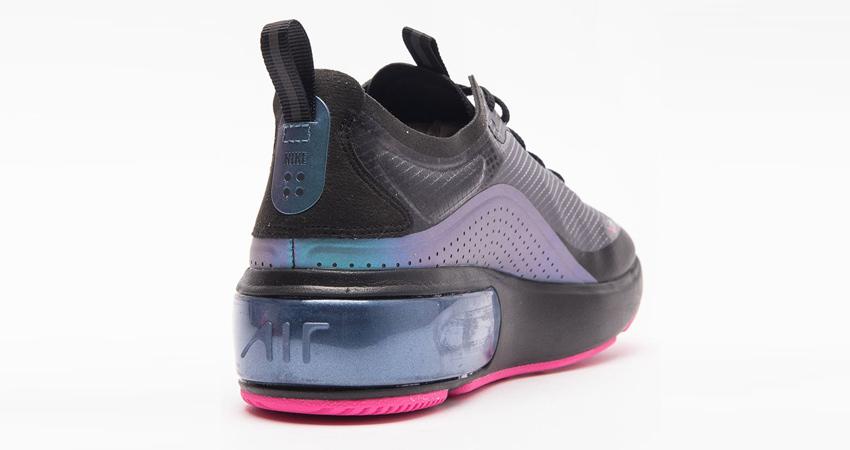 Nike Air Max DIA Comes In Black Laser Fuchsa Colourway