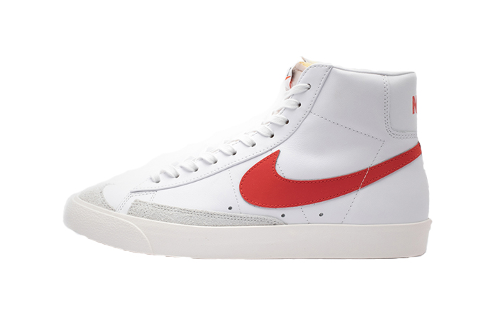 Nike Blazer Mid '77 Vintage White Red BQ6806-600 01
