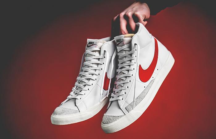 Nike Blazer Mid '77 Vintage White Red BQ6806-600 02