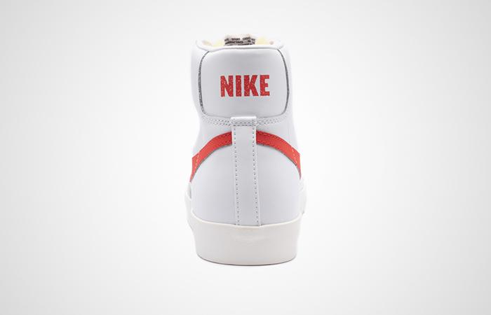 Nike Blazer Mid '77 Vintage Whte Red BQ6806-600