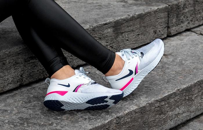 Nike Odyssey React 2 Flykni Premium White Pink AV2608-146
