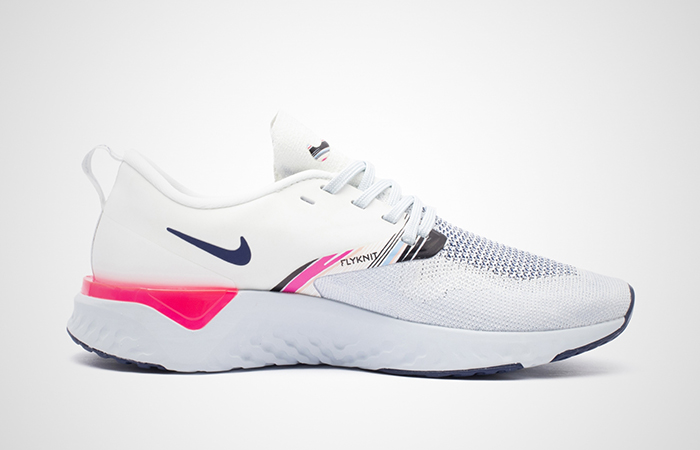 Nike Odyssey React 2 Flyknit Premim White Pink AV2608-146