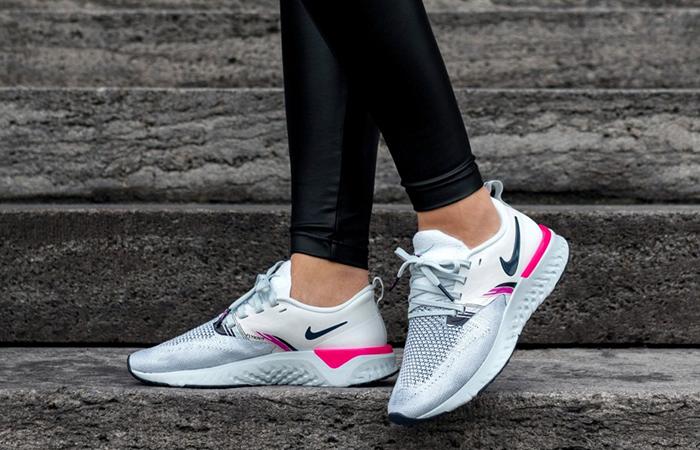 Nike Odyssey React 2 Flyknit Prmium White Pink AV2608-146