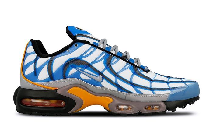 wholesale dealer e1b4e 2dd28 Nike TN Air Max Plus Premium Photo Blue 815994-400