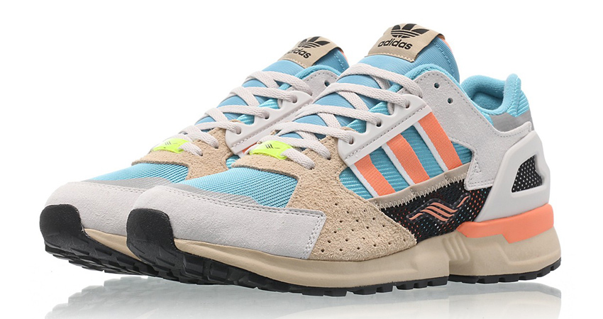 291af753b Official Look At The adidas ZX 10.000C Blue Coral – Fastsole
