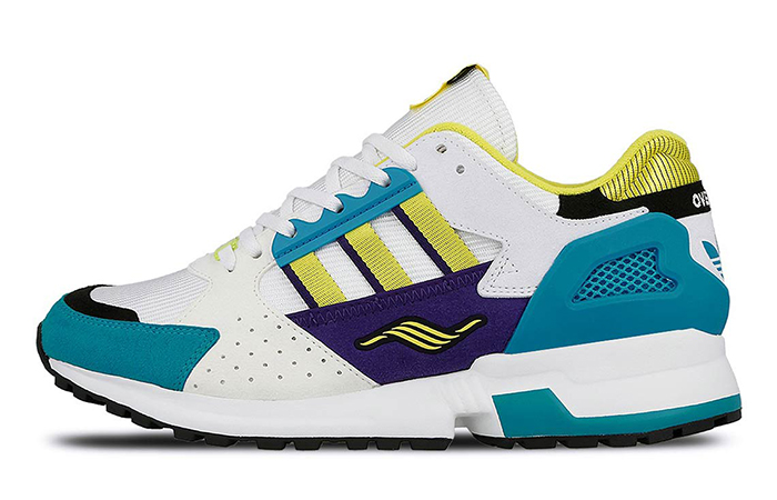 """Overkill adidas Consortium ZX 10.000C """"I C If I Want"""" Pack White Green EE9486"""