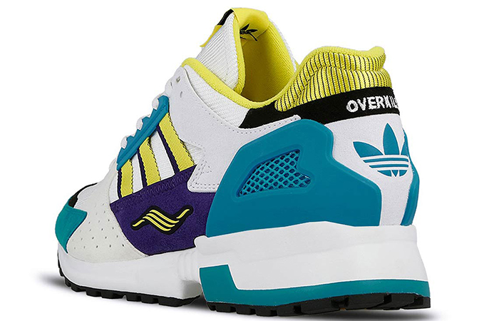"""Overkill adidas Consortium ZX 10.000C """"I Can I Want"""" Pack White Green EE9486"""