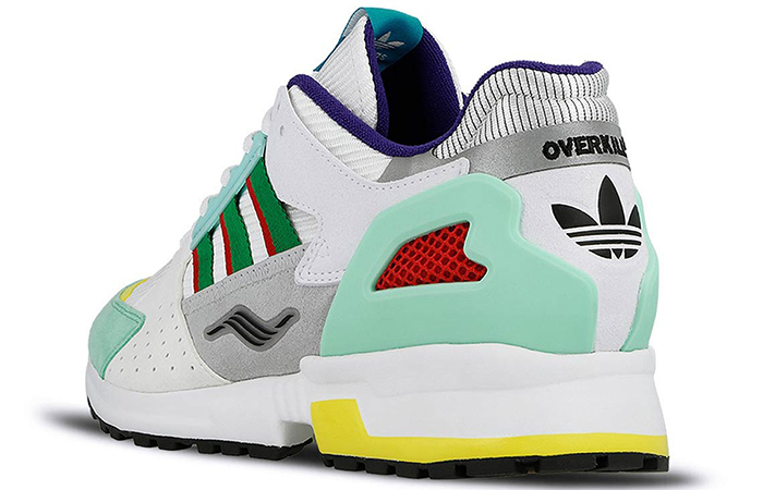 """9dc69fe722be5 ... Overkill adidas Consortium ZX 10.000C """"I Can If I Want"""" Pack White Gree"""