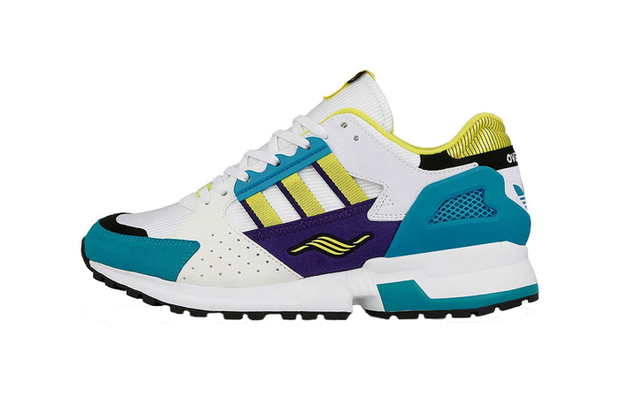 """Overkill adidas Consortium ZX 10.000C """"I Can If I Want"""" Pack White Gree EE9486"""