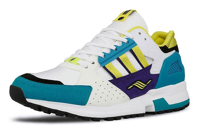 """Overkill adidas Consortium ZX 10.000C """"I Can If I Want"""" Pack White Green EE9486 03"""