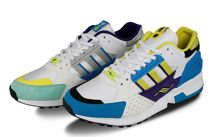 """Overkill adidas Consortium ZX 10.000C """"I Can If I Want"""" Pack ite Green EE9486"""