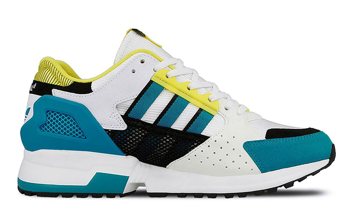 """Overkill adidas Consortium ZX 10.000C """"I Can If I nt"""" Pack White Green EE9486"""