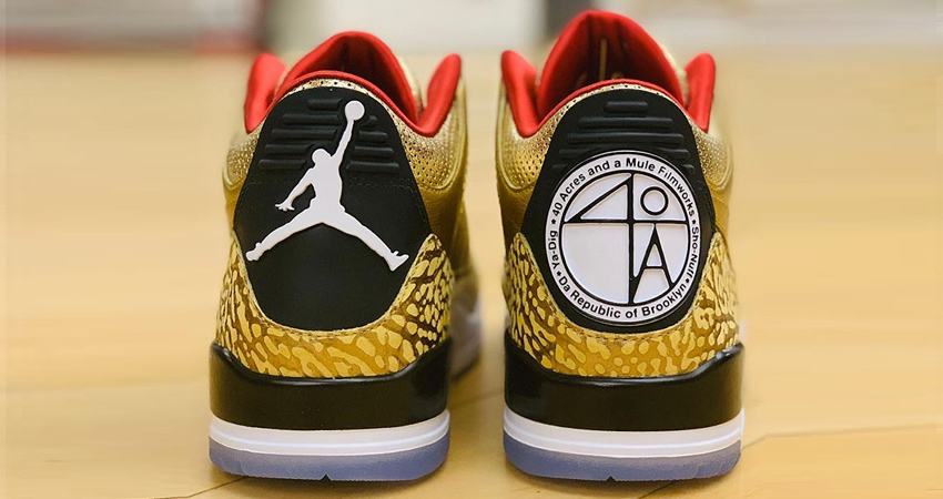 Spike Lee Uncovers The Golden Air Jordan 3 Tinker for Oscars