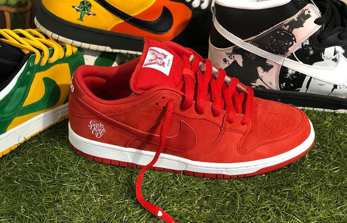 Take A Look At Verdy's The Girls Don't Cry Nike SB Dunk Low (ft)