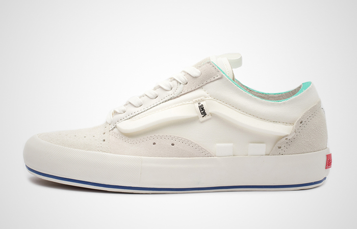 Vans Old Skool Cap LX White Beig VN0A45K1VRW