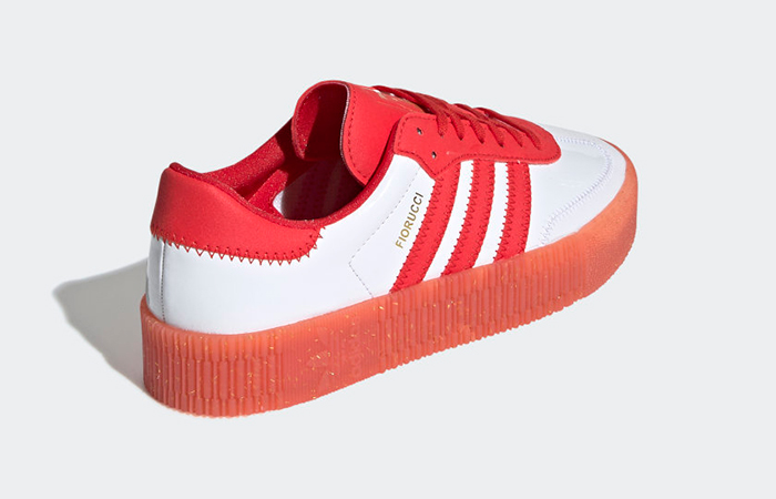 adidas Fiorucci Sambarose Red White Womens G28913 03