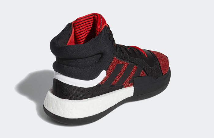 adidas Marquee Boost Black Red G27735 02