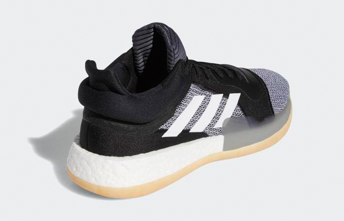adidas Marquee Boost Low Black White D96932 1