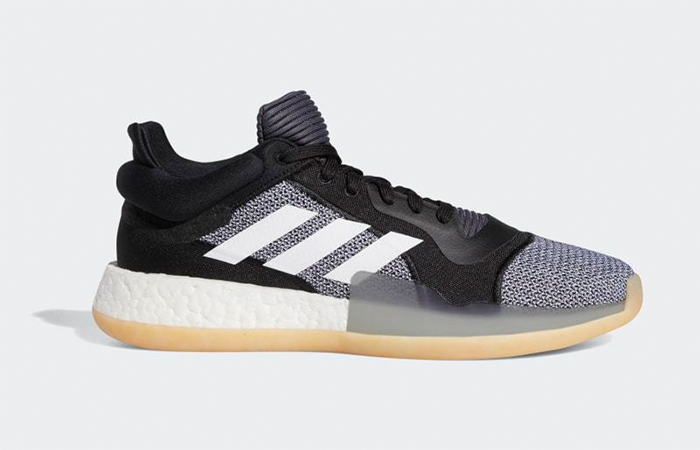 adidas Marquee Boost Low Black White D96932 2