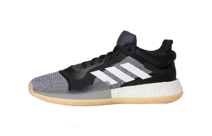adidas Marquee Boost Low Black White D96932 ft