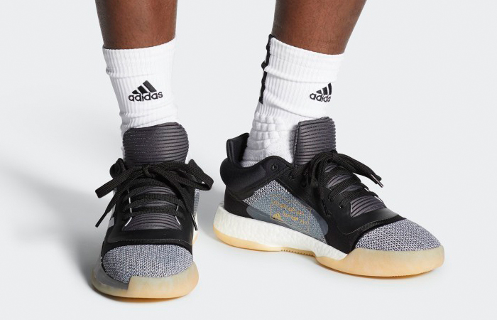 adidas Marquee Boost Low Black White D96932