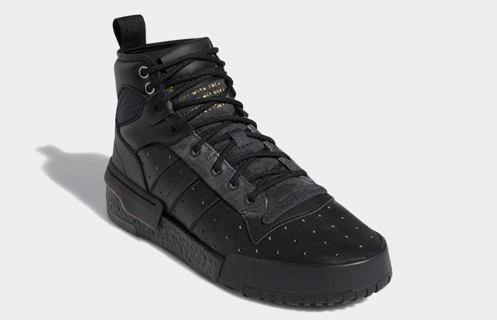 adidas Rivalry Hi Boost Tripl Black AH2455