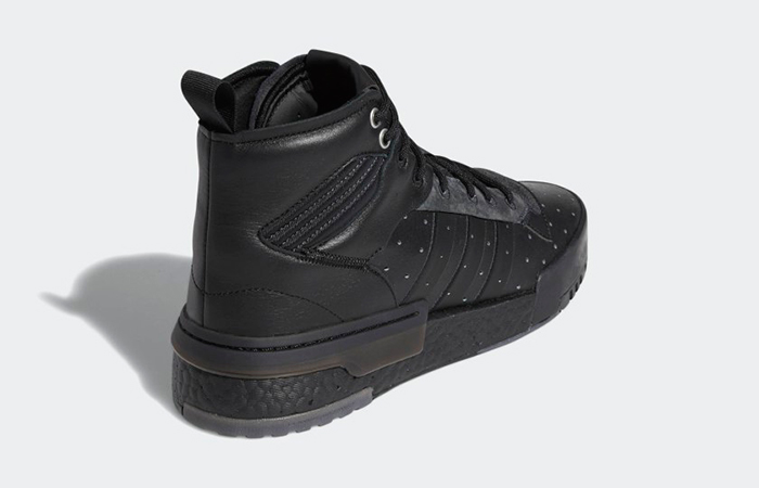 adidas Rivalry Hi Boost Triple Blac AH2455
