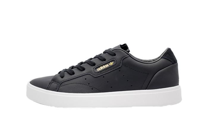 49c0c4df808 adidas Sleek Black White Womens CG6193