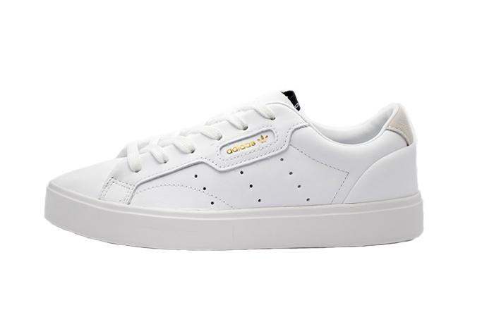 3cdc1b8f911 adidas Sleek Triple White Womens DB3258