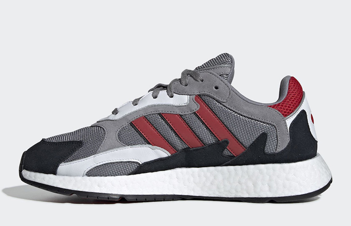 adidas TRC Run Grey Scarlet EF0765