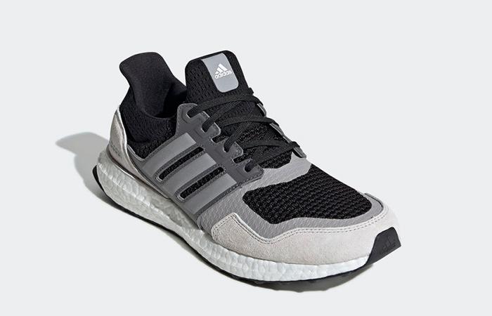 adidas UltraBOOST S&L Black Grey EF0726 02
